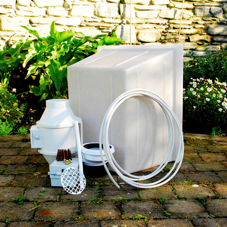 Sump Mail: Radon Fan Installation Kit With 26 Watt Radon Fan